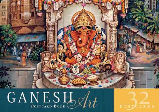 Ganesh Art Postcard Book